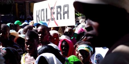 Éliminons l'épidémie de choléra en Haïti avec l'action immédiate de l'ONU!