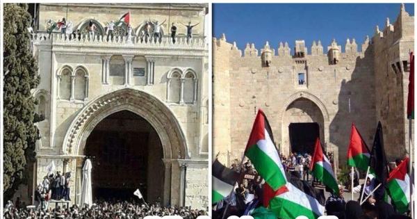 الشعب الفلسطيني و دعوته استعادة زمام المبادرة، و التحرك لانهاء الانقسام: نداء القدس لانهاء الانقسام و استعادة الوحدة
