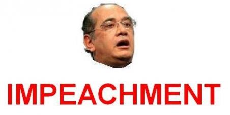 """""""Impeachment"""" do ministro Gilmar Mendes do STF"""