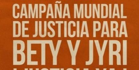 Justicia para Bety Cariño y Jyri Jaakkola