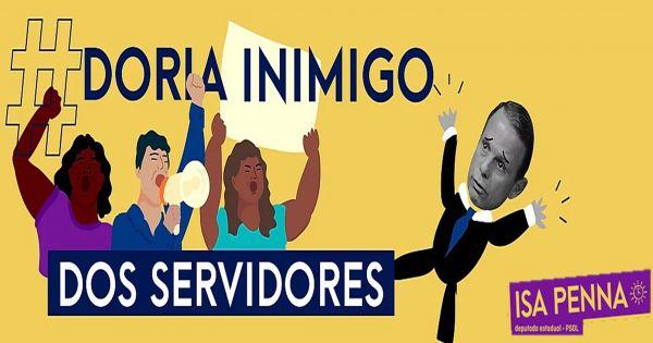 Em defesa dos servidores que não estão na quarentena em São Paulo