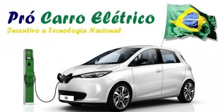 Carro Elétrico Brasileiro - Pró-Tecnologia Nacional