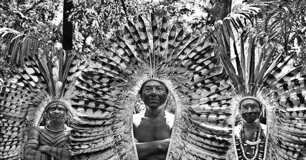 Lélia e Sebastião Salgado: ajude a proteger os povos e indígenas da Amazônia do Covid.