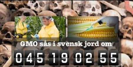 Swedish goverment: Ban GMO and Monsanto