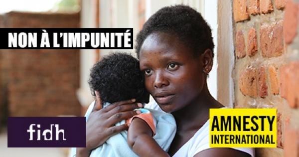 Viols et massacres en RDCongo - NON A L'IMPUNITE