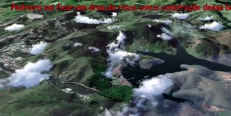 Governador de São Paulo, essa barragem vai causar o maior desastre ambiental e humano da história da região RMC