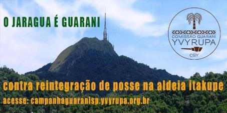 Dr. Antonio Tito Costa: Retire ação de reintegração de posse contra a Aldeia Itakupe na TI Jaraguá