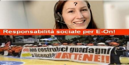 Responsabilità sociale per E-On!