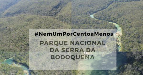 A favor da integridade do Parque Nacional da Serra da Bodoquena - MS #NemUmPorCentoAMenos