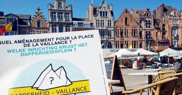 NON au projet de parking souterrain Place de la Vaillance (Anderlecht)