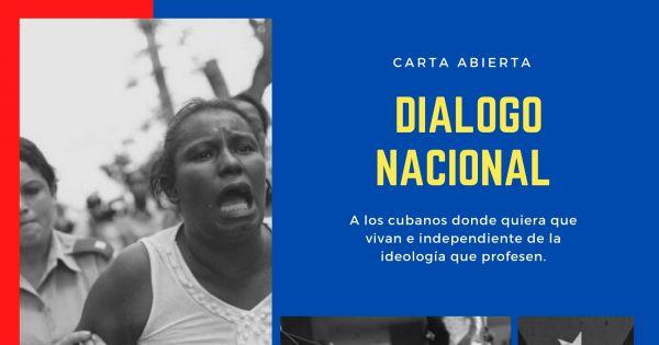 Carta abierta por la necesidad de un Diálogo Nacional en Cuba