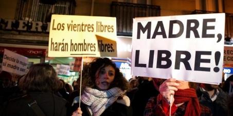 Au Premier Ministre espagnol Mariano RAJOY et au Parlement: Pour le droit à l'avortement