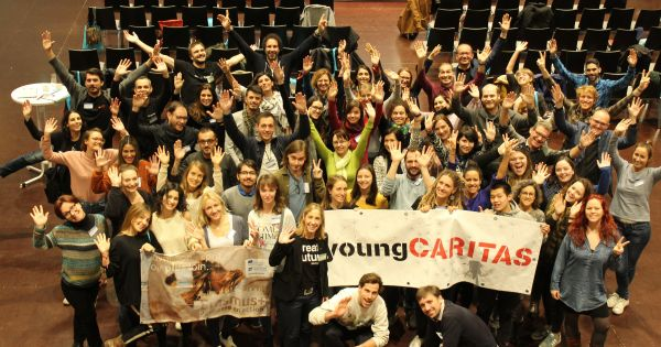 The YoungCaritas community needs to play a greater role in the new Caritas strategy