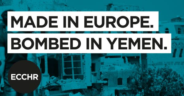 STOP European arms exports to Saudi Arabia and the United Arab Emirates!