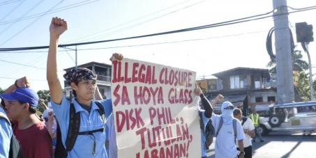 Reinstate 2600 Hoya Workers, Stop Union Busting!