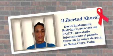 A Raúl Castro Ruz, Jefe del Ejército y de los Comunistas en Cuba: Libertad para David Bustamante Rodríguez, paciente de VIH, encarcelado.
