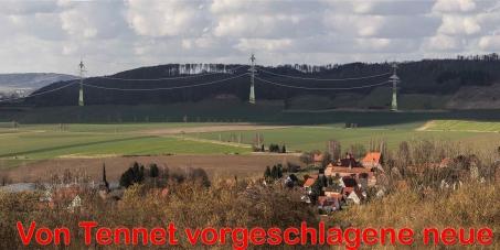 Bundesnetzagentur als Auftragsgeber  Fa. TenneT (Als Planer der HGÜ-Trasse): Wir fordern, dass keine HGÜ-Leitung vor das Fluggelände gebaut wird.