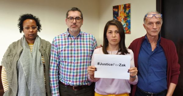 To all relevant Greek authorities: investigate Zak Kostopoulos' death #JusticeForZak