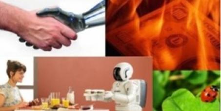 Fin du travail contraint pour l'homme, les robots au boulot répondant aux besoins et disparition totale de l'argent