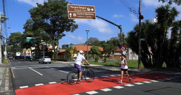 Investimento em Ciclovia nas regiões de Curitiba