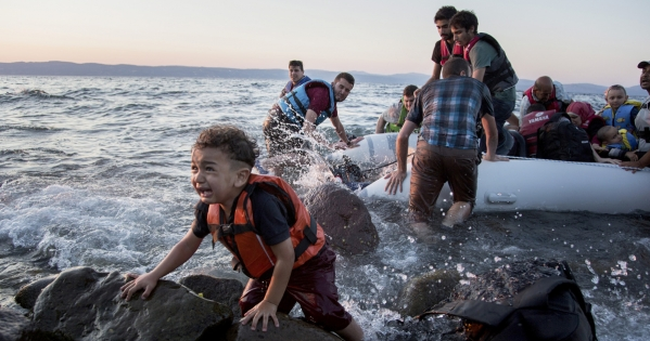 Award the Nobel Peace Prize to the people of Lesbos