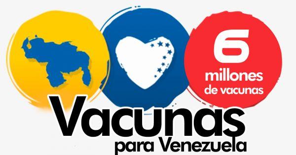 ¡Firma! Venezolanos piden a Biden 6 millones (10%) de las vacunas que distribuirá EE.UU.