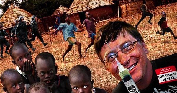 """We say """"NO"""" to Coronavirus Vaccine in Africa"""