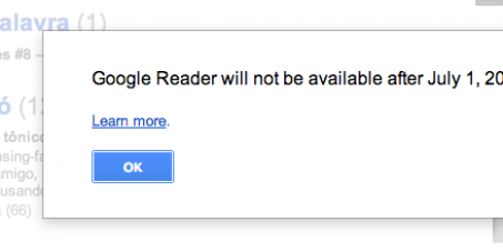 Ask Google to keep Google Reader online