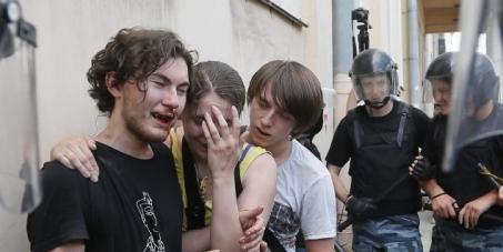 Oproep tot boycot van de Olympische spelen in Rusland 2014.