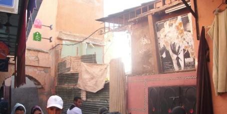 Sauvons de la destruction illégale le Cinéma Eden patrimoine culturel historique de la ville de Marrakech