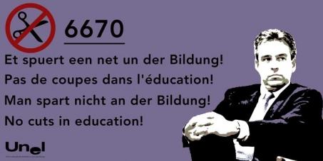 Et spuert een net un der Bildung: Petitioun betreffend den Projet de Loi 6670