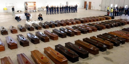 The Eritrean government to take the responsibility of organizing the transport of our dead from the island of Lampedus
