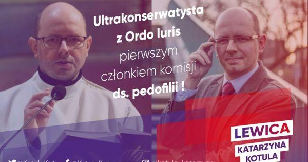 Petycja o odwołanie Błażeja Kmieciaka z funkcji pierwszego członka komisji ds. pedofilii