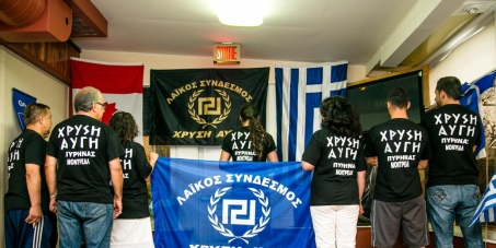 Sign here to stop Golden Dawn Nazi Organization in Montreal!