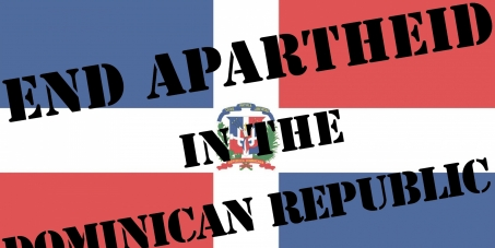 End apartheid in the Dominican Republic