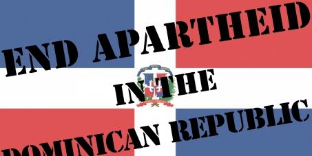 End apartheid in the Dominican Republic
