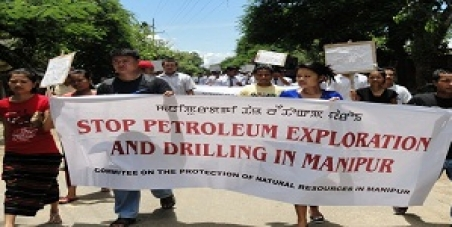 Stop Oil Exploration and Drilling in Manipur