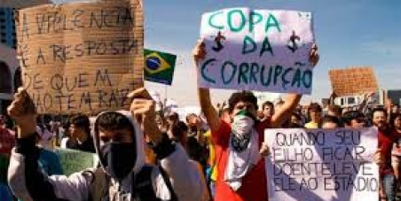 Chamado à decência/Call for decency: Ask the Brazilian national football team to Withdraw from the 2014's World