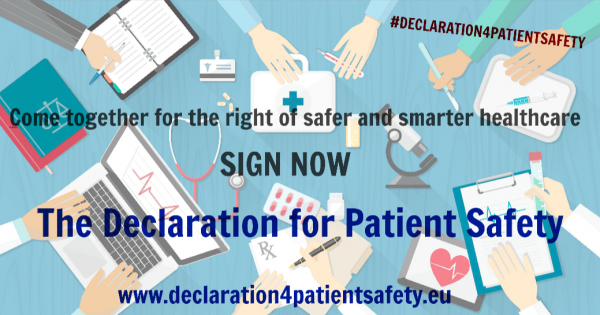 Stop preventable harm and promote Patient Safety across Europe