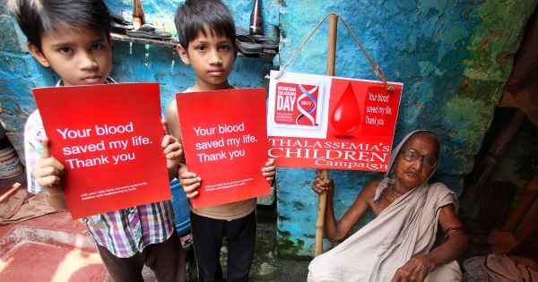 Equitable access to safe and adequate blood globally