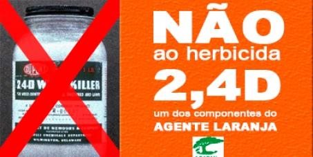 NÃO ao herbicida 2,4D