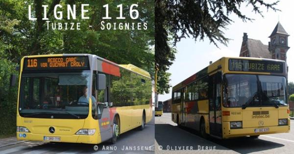 Aux habitants de Tubize, Rebecq, Soignies et environs: BUS supplémentaires Tubize->Soignies//Soignies->Tubize