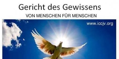 An das Volk: Einzug des ICCJV in den Justizpalast Wien am 15.4.2015