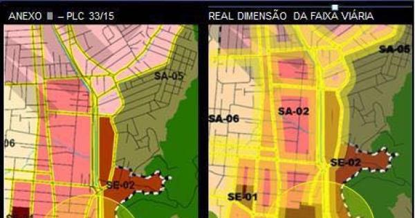Presidente da Câmara de Vereadores de Joinville: Apresentar aos joinvilenses os estudos tecnicos e os mapas reais da LOT