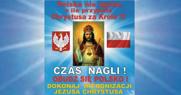 Sz. Pan Prezydent Andrzej Duda: Wzywamy Sz. P. do Krakowa 19.XI.16r. na INTRONIZACJĘ aby ratować OJCZYZNĘ