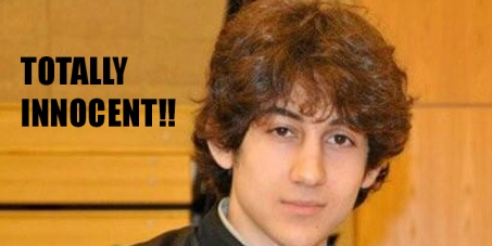 Dzhokhar Tsarnaev is innocent