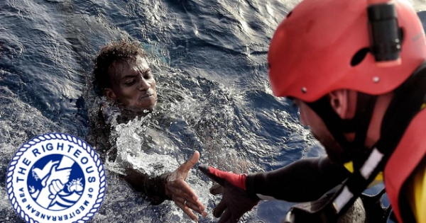 "NORWEGIAN NOBEL COMMITTEE: NOBEL PEACE PRIZE 2018 TO ""THE RIGHTEOUS OF THE MEDITERRANEAN SEA"""