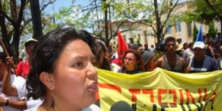 Berta Carceras freed from jail and judge said no evidence to support charges against her