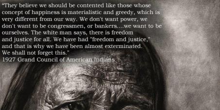 Pour que les masques soient rendus aux indiens d'Amérique!