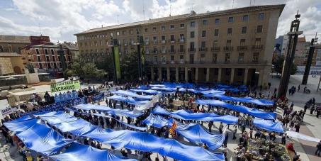 El Justicia de Aragón: Intervenga en el conflicto del Saneamiento en Aragón